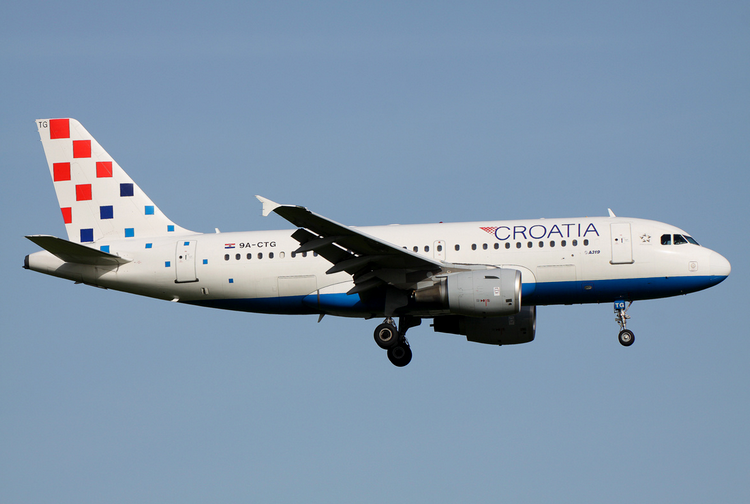 croatia airlines самолет